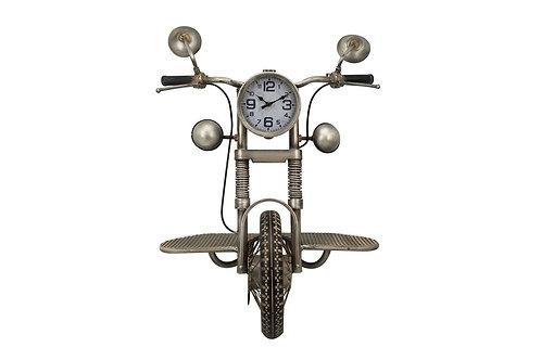 DLPE1853 - ETAGERE/PENDULE MOTO MURALE
