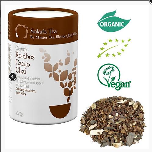 10110Solaris Rooibos Cacao Chai Bio - thé en vrac -- 50 g   Solaris Rooibos Caca