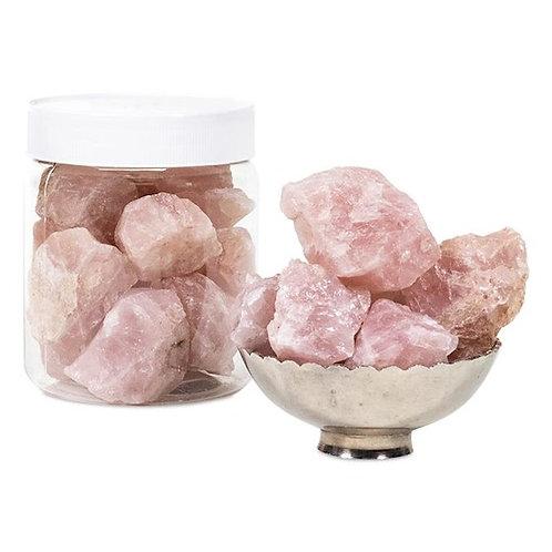 DL6033/2 Rocaille de Quartz rose en pot