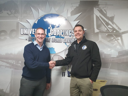 Universal Coatings UK Welcomes Matthew Curtis To The Team
