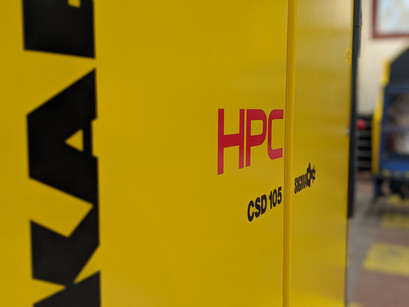 Impressive New Compressor Arrives At Universal Coatings UK HQ