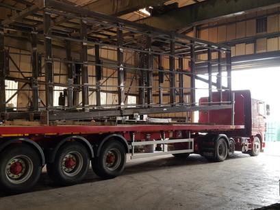 New Build Lift Shaft & Canopies
