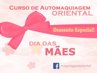 """Promoção """"Dia das Mães"""".                    25% de desconto"""