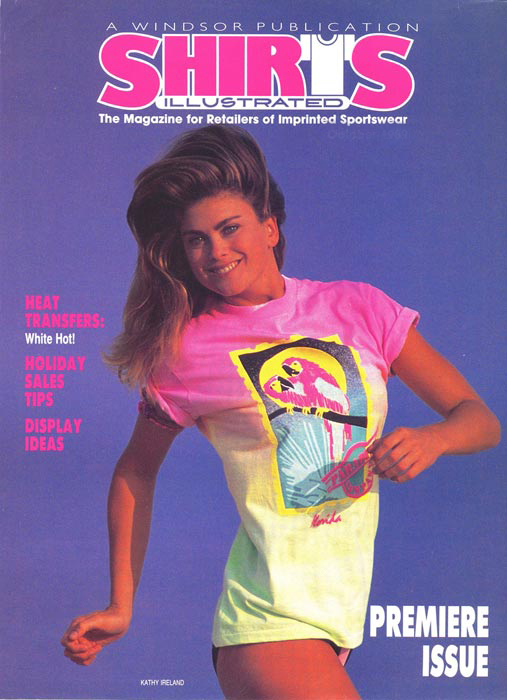 ShirtsI llustrated Magazine- Kathy Ireland