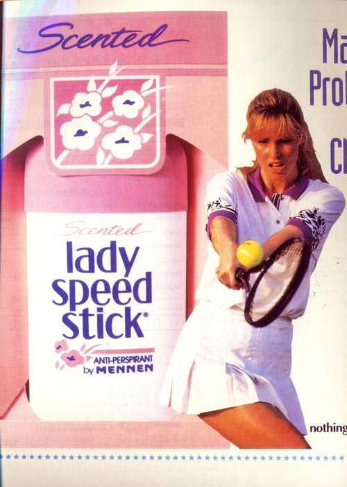 Lady Speed Stick ad