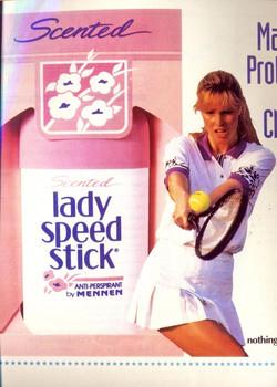 Lady Speed Stick ad