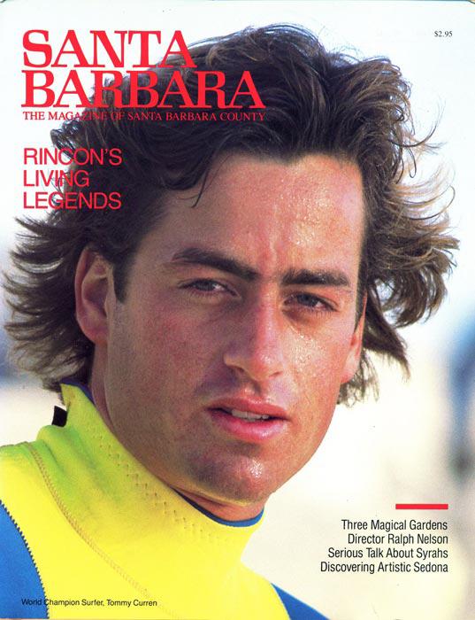 Santa Barbara Magazine Tom Curren