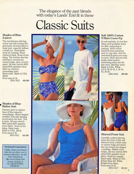 Lands End Catalog Barbados