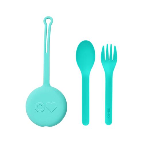 Fork, Spoon + Pod Set