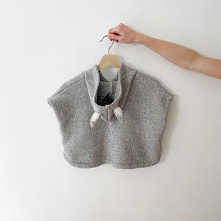 Kid's Knit Poncho
