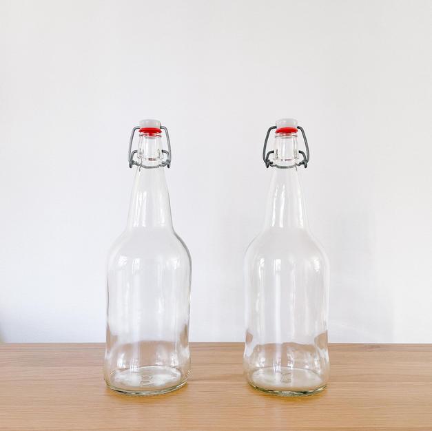 Swing-top Bottles, set of 2