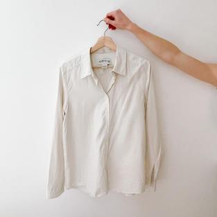 Silk Button-Down