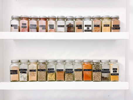 Simple Spice Storage