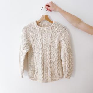 Handmade Fisherman's Sweater