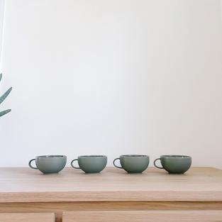 Sage Green Mugs