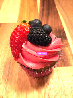Many Berry Cupcakes