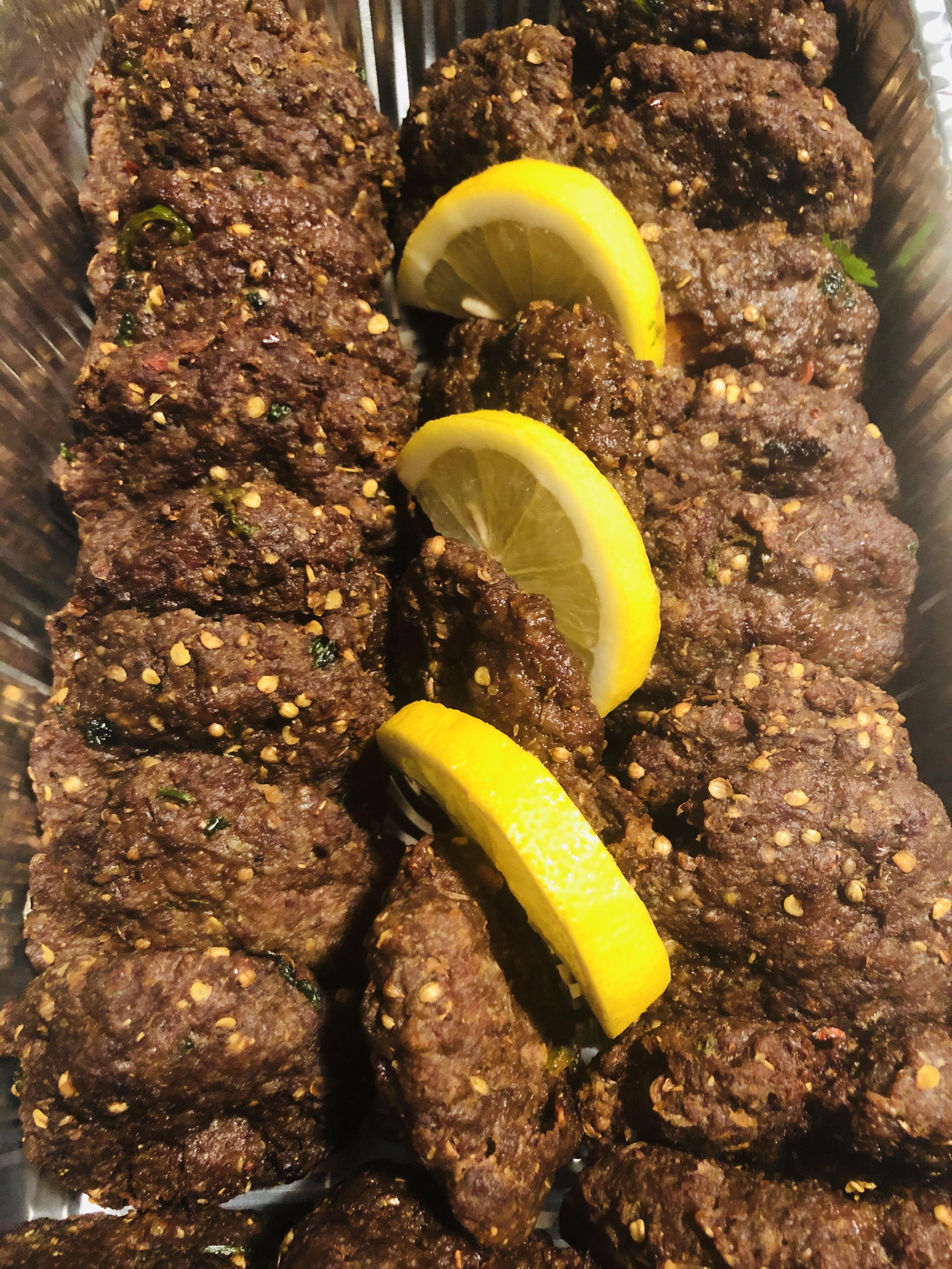Chapli kebabs