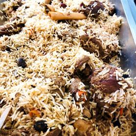 Lamb Shank Pulao