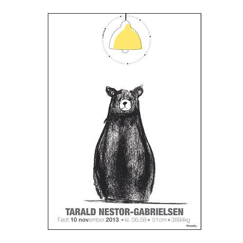 Design Bjørn (unisex) (A4)