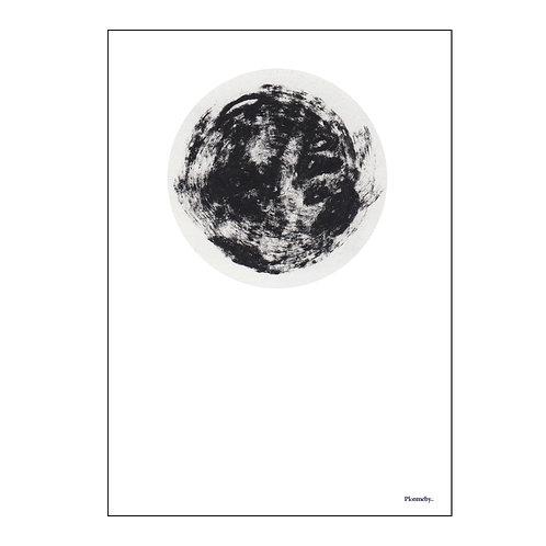 moonisearlyLife (50x70cm)