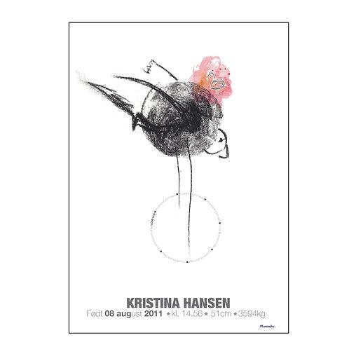 Design bird (unisex) (A4)