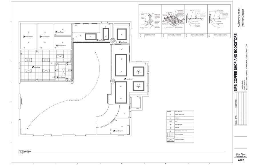 First Floor Ceiling Plan