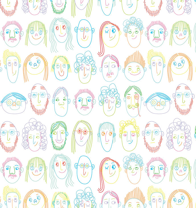 NEW FACES PATTERN final smaller version