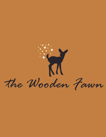 the Wooden Fawn Logo