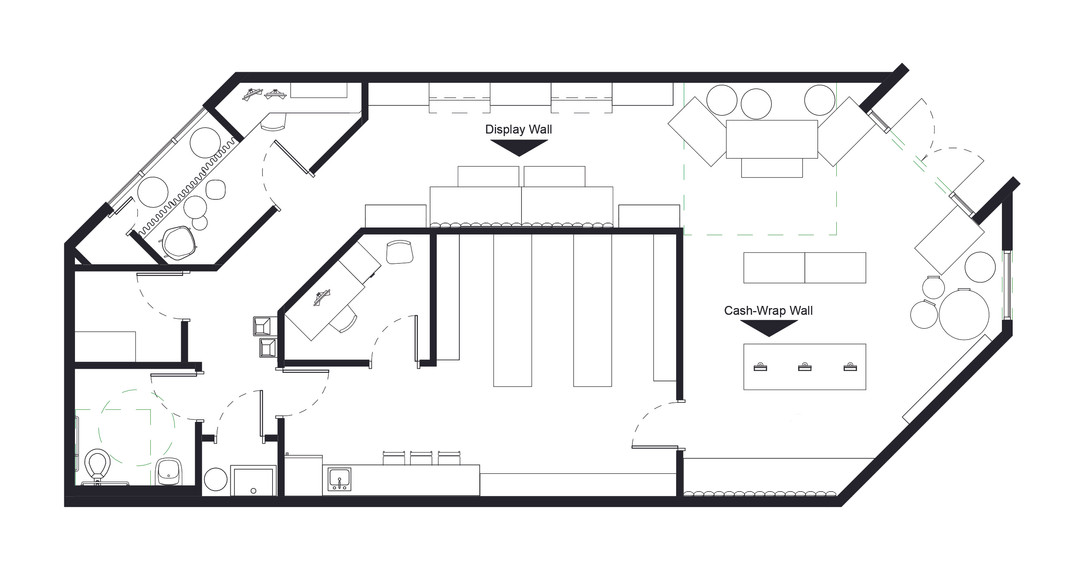 Skate Shop Floorplan