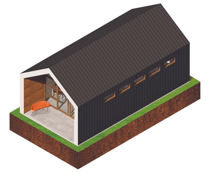The House - Axonometric