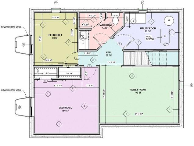 Basement Floor Proposed Plan