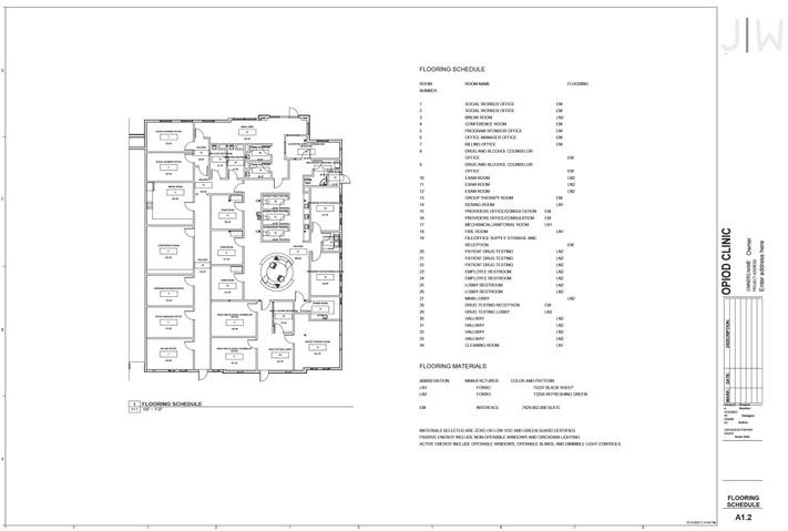 Flooring Schedule