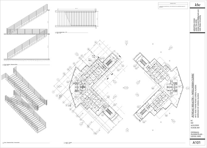 A101 - Overall Floor Plan - Level 1