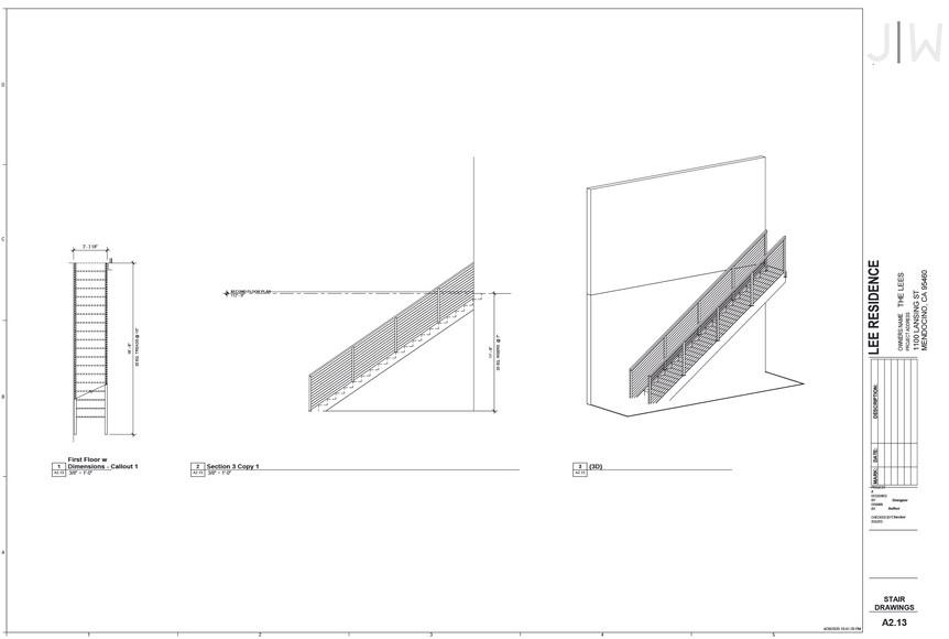 Stair Drawings