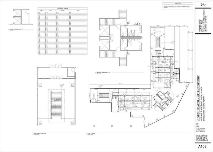 A105 - Building B - Level 1