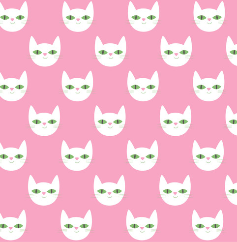 Le Chat Pattern © Åsa Wikman