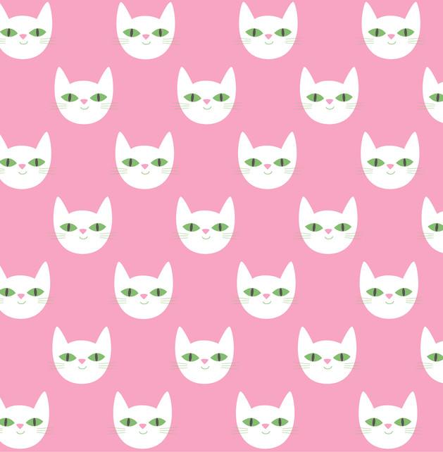Le Chat Pattern © Åsa Wikman