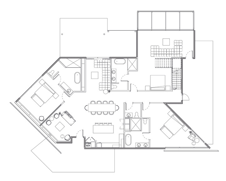 Stairway to Heaven 1st Floor Floorplan