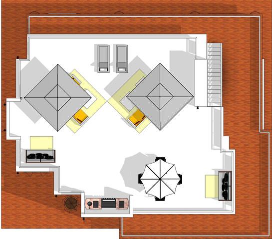 Roof Top Deck Floor Plan