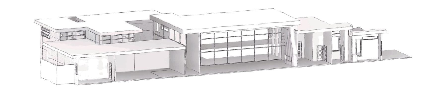 3D House Section