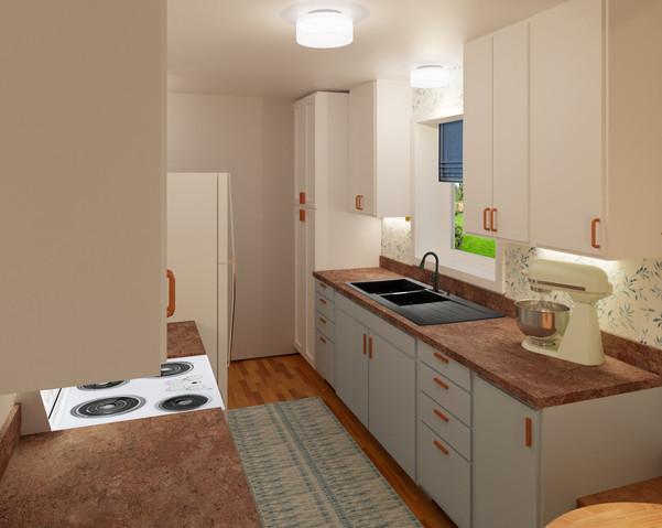 16. Kitchen View 2