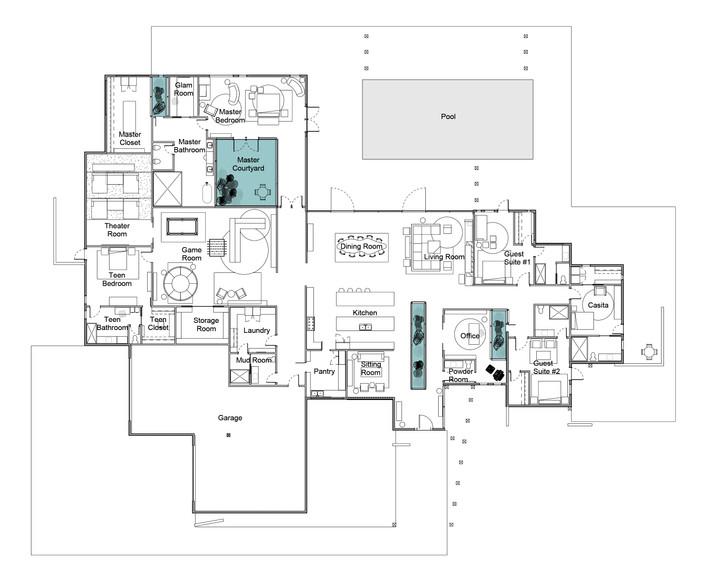 Blackbird Residence Floor Plan