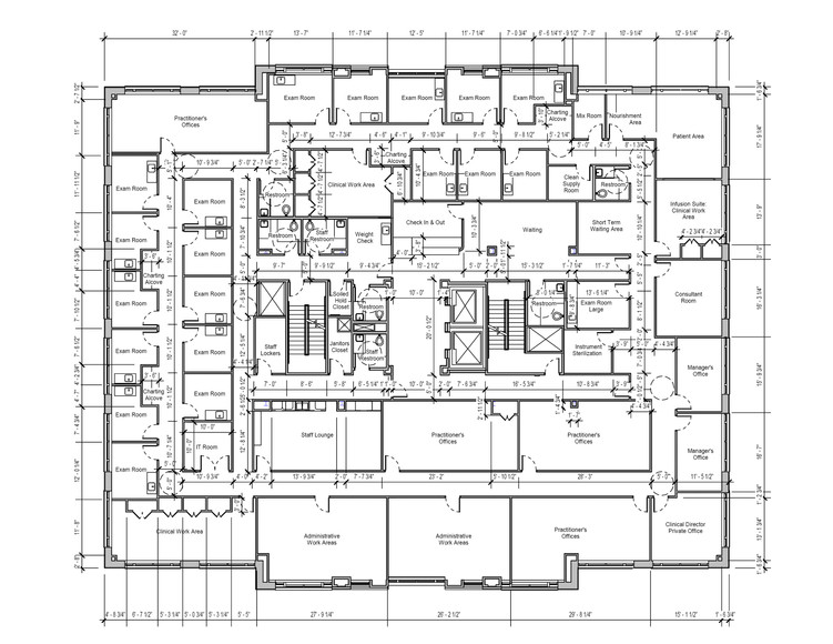 Dimensioned Floorplan