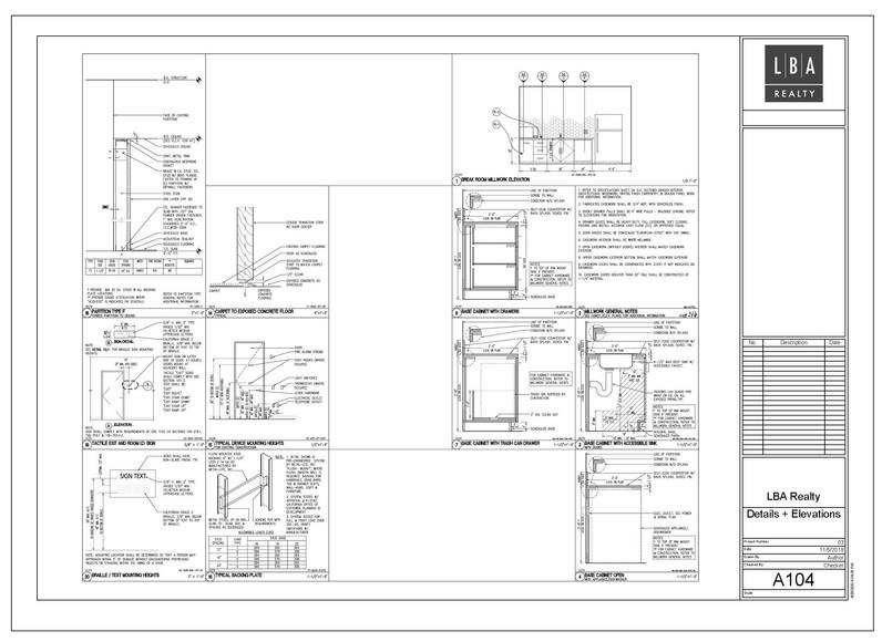 Details + Elevations