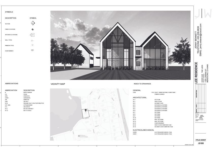 Construction Docs - Title Sheet