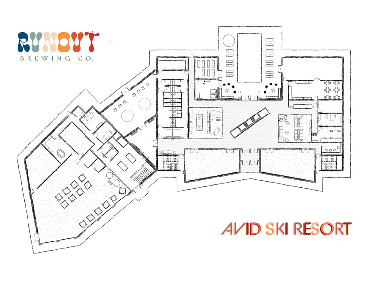 Runout Brewery + Restaurant & Avid Ski Resort