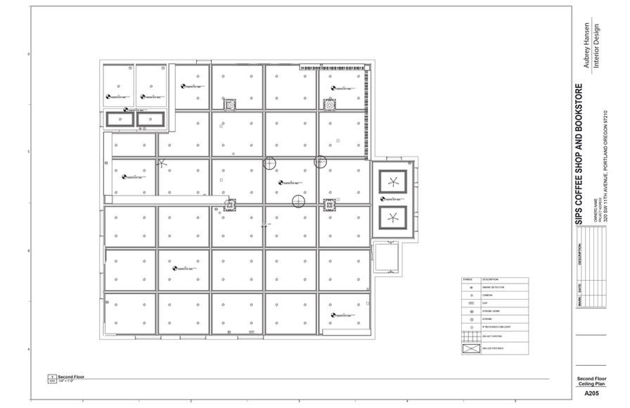 Second Floor Ceiling Plan
