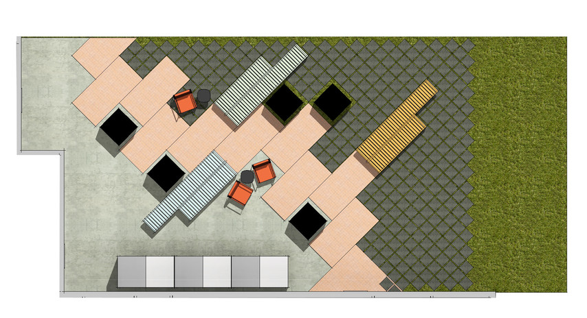 Exterior Plan View