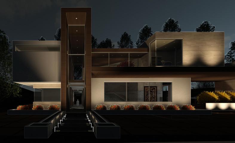 Exterior Night View