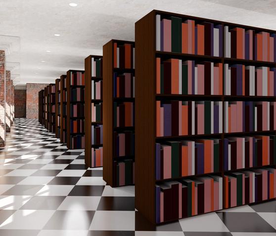 Downstairs Bookshelves